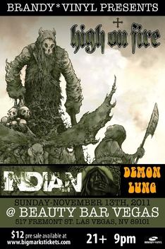 High On Fire Flyer