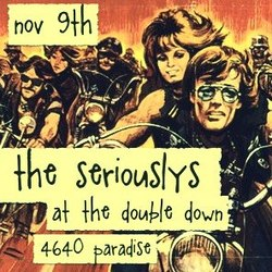 The Seriouslys flyer
