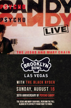 The Jesus And Mary Chain flyer