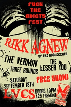 Fuck The Adicks Fest Flyer
