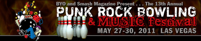 Punk Rock Bowling 2011 Header