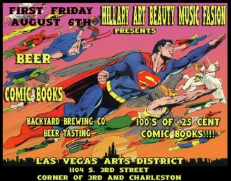 Comic Books & Beer Flyer