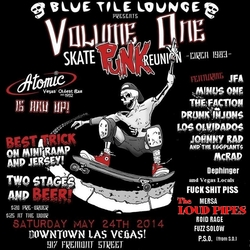 Skate Punk Reunion flyer
