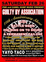 Guilty By Association Flyer