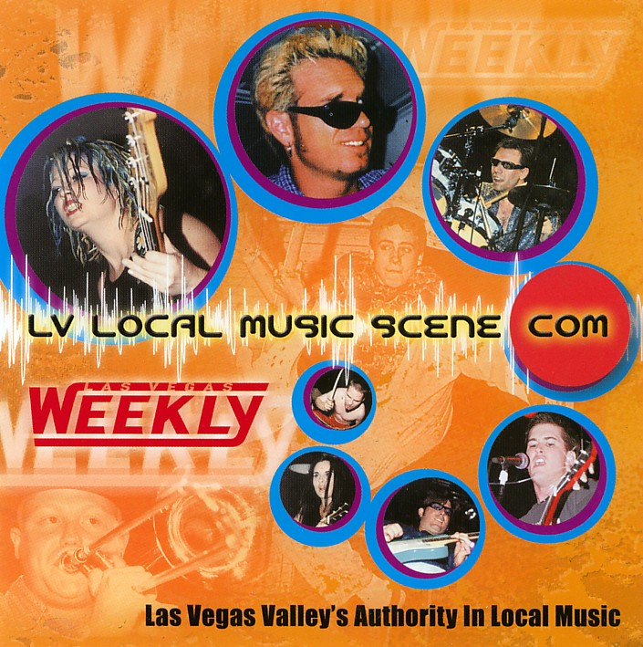 LV Local Music Scene .Com Compilation Vol. 2 - Front