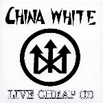China White - Live Cheap CD