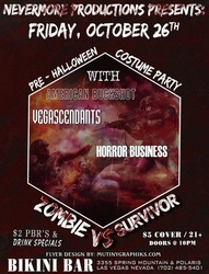 Zombie vs. Survivor flyer
