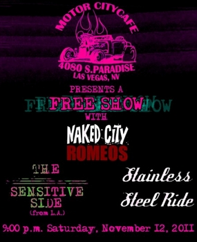 Naked City Romoes Flyer