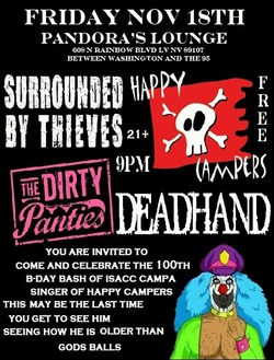 Surrounded By Thieves Flyer