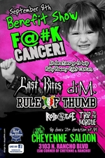 Fuck Cancer Flyer