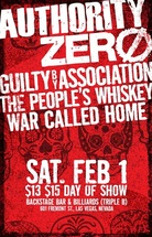 Authority Zero flyer