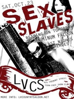 Sex Slaves Flyer