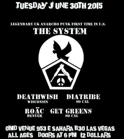 The System (UK) flyer
