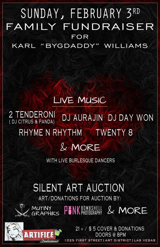 Karl BygDaddy Williams Fundraiser
