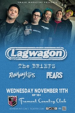 Lagwagon flyer
