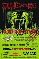 Slaughter And The Dogs flyer