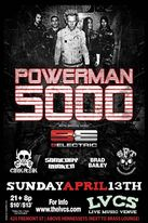 Powerman 5000 flyer