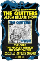 The Quitters flyer