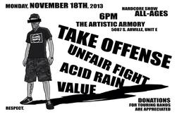 Unfair Fight flyer