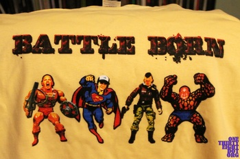 Battle Born Tee Shirt