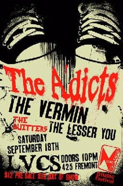 Adicts flyer