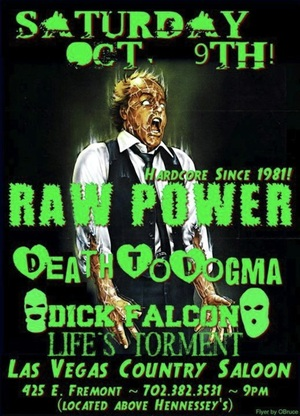 Raw Power Flyer