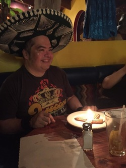 Happy Birthday Gilbert Sombrero