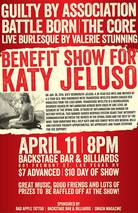 Katy Jeluso benefit flyer