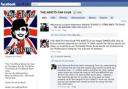 The Adicts Facebook Page Before 2