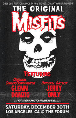 Misfits - Live At The Forum poster