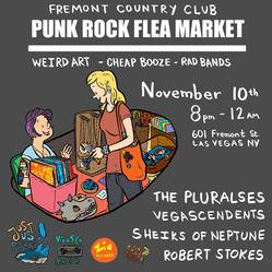 Punk Rock Flea Market flyer