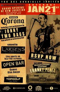 Johnny Two Bags flyer