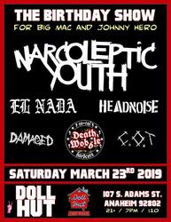 Narcoleptic Youth flyer