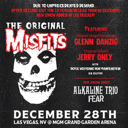 Misfits MGM Grand flyer